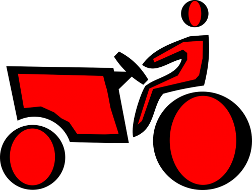 farmer tractor farm