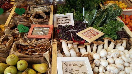 farmers local market vegetables market stall
