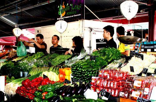 farmers local market vegetables vegetable market