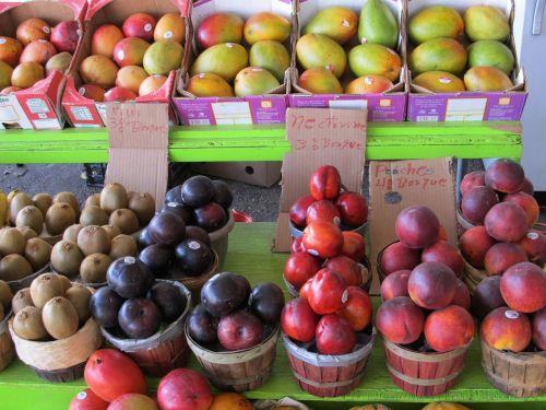 farmers market produce fresh