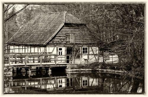 farmhouse fachwerkhaus building