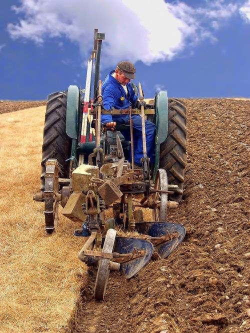 farming ploughing agriculture