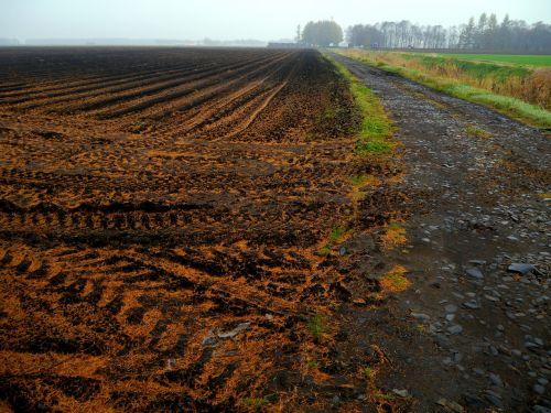 farmland plow tractor
