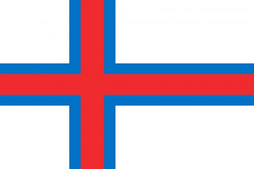 faroe islands flag national flag