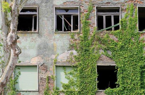 fart  windows  ruined house