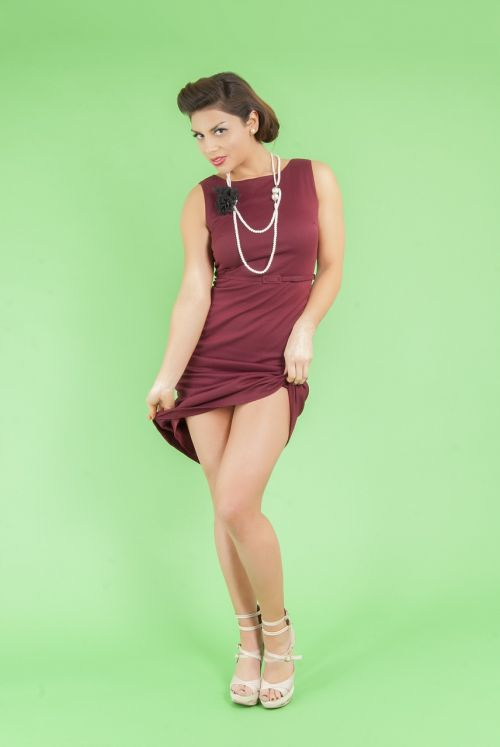 fashion pinup girl