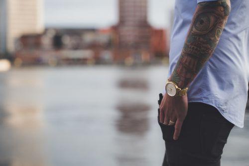 fashion tattoos man