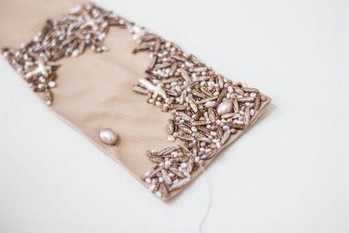 fashion beads garment
