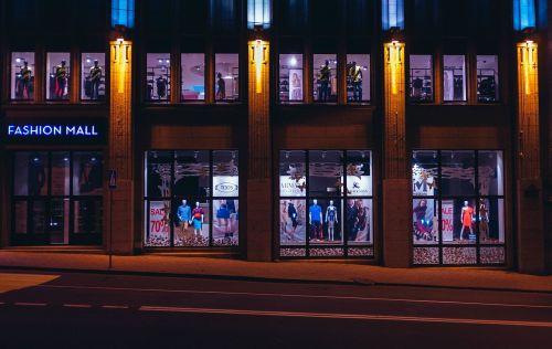 fashion mall shopping