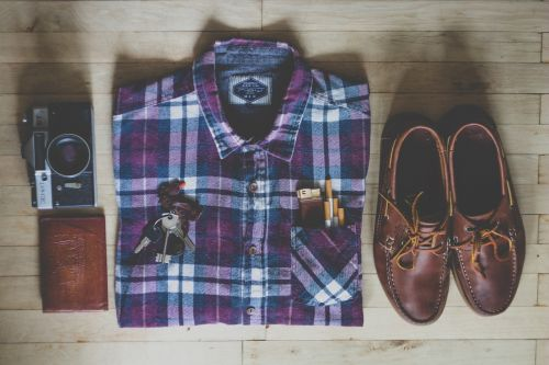 fashion shirt shoes