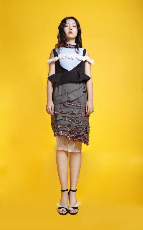 fashion design student works original photography