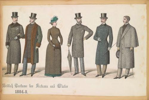 fashion plates 1800s fashion