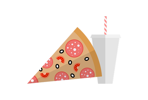 fastfood  pizza  cola