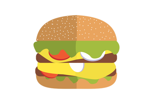 fastfood  hamburger  food