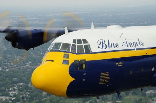 fat albert airplane blue angels