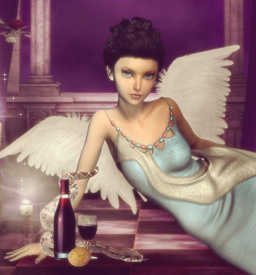 fate woman wings