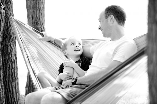father son hammock