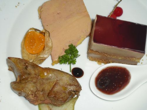 fatty liver meat duck