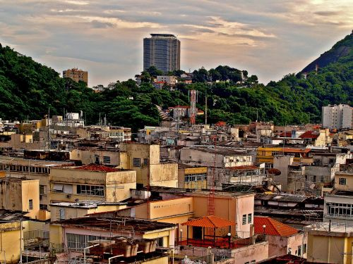 favelas buildings sheds