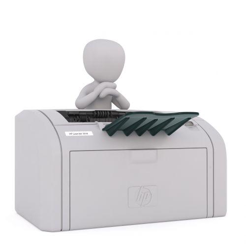 fax white male 3d model