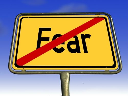 fear town sign fearless