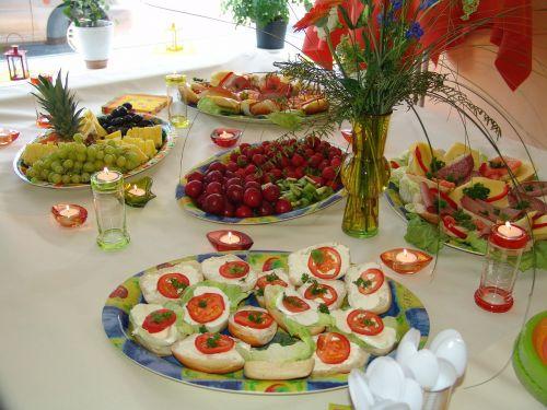 feast buffet invitation