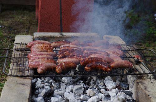 feast sausages food