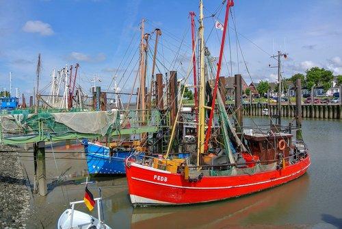 fedderwardersiel  shrimp  fishing vessel