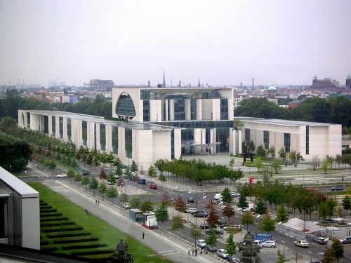 federal chancellery office complex government district