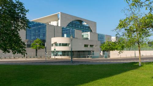 federal chancellery architecture modern