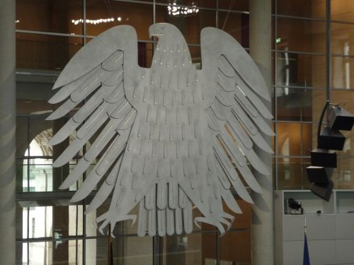 federal eagle bundestag heraldic animal