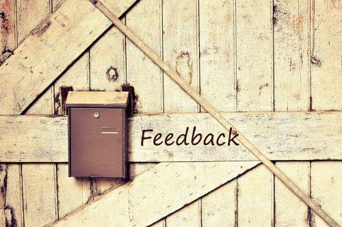 feedback contact reaction