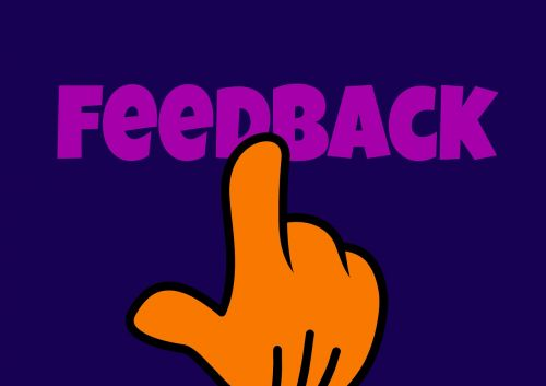 feedback opinion hand