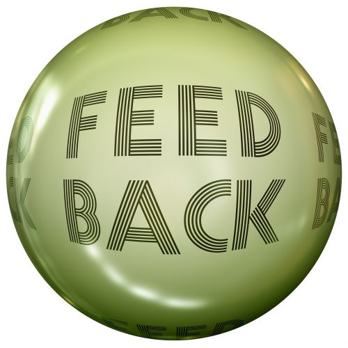 feedback ball about