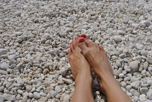 feet vacation holiday
