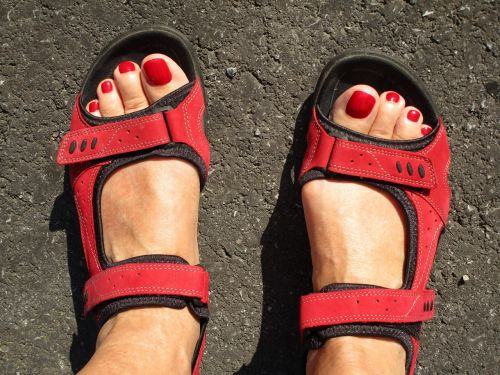 feet beauty fashion