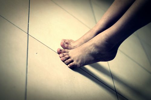 feet toe human body