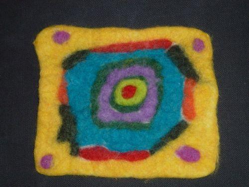 felt children work art
