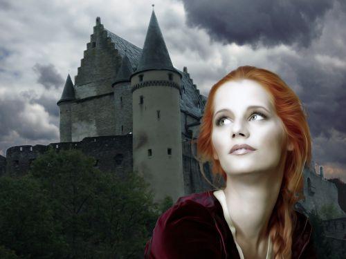 female woman medieval