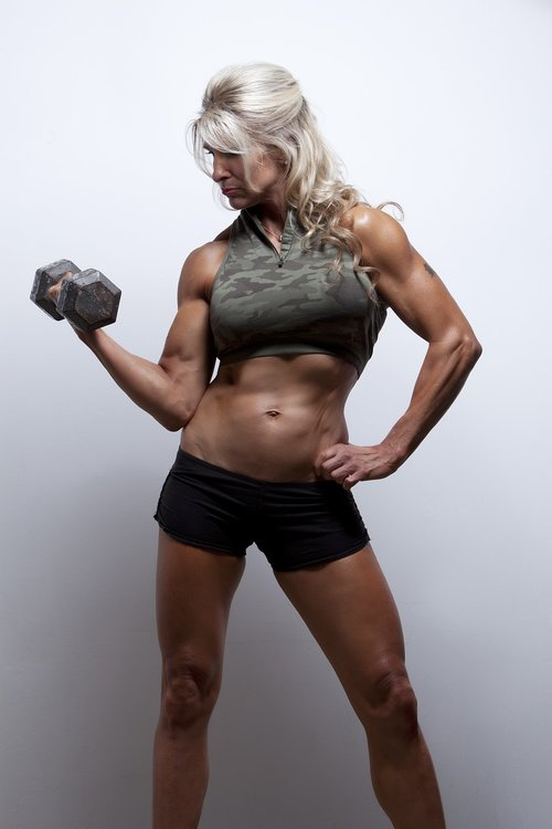 female  athletic  fit
