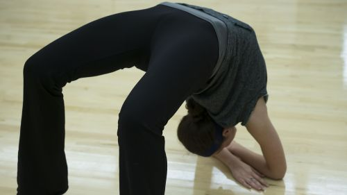 female flexible flexibility