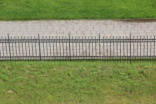 fence separation park