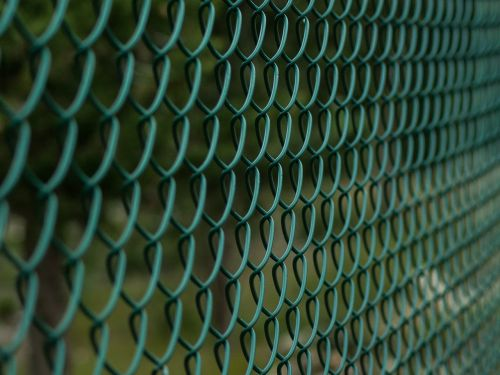 fence closing metal mesh