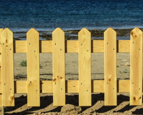 fence wooden privacy