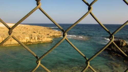 fence barrier metal