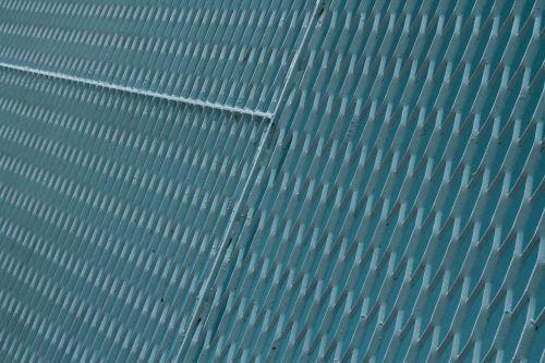 fence blue links