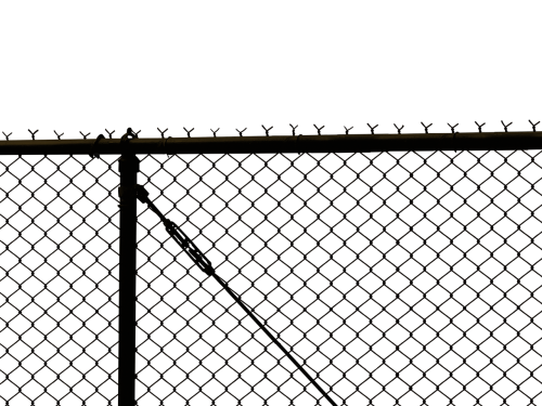 fence chain link border