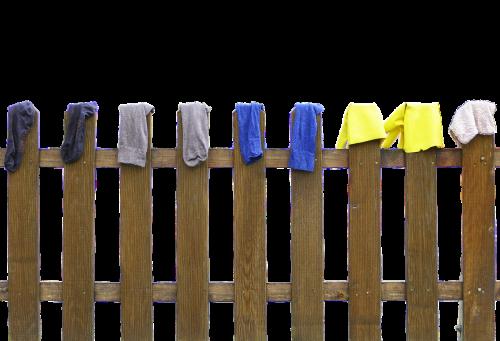 fence laundry dry