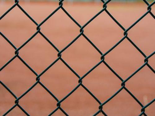 fence wire mesh border