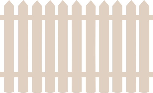 fence wooden barrier